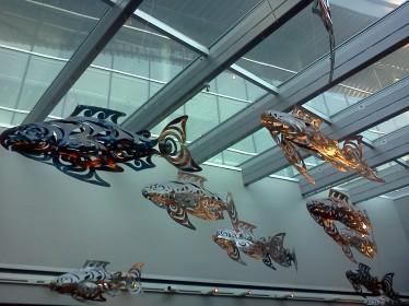 Fish sculpt VanConvCentre