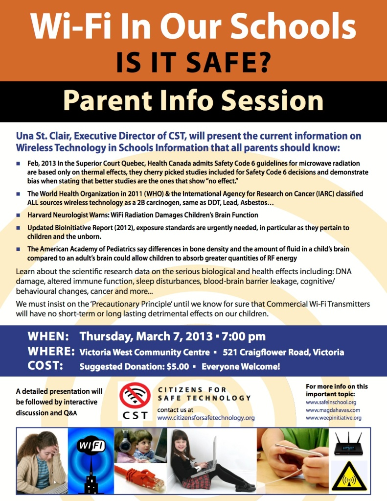 WiFi Information Session March 7 2013