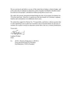 2 SD85 Board supports Cowichan School Board election
