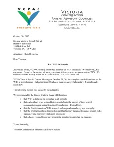 VCPAC WiFi letter to Trustees Oct 30 2013