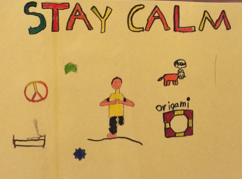 Good advice in December from Sundance School student