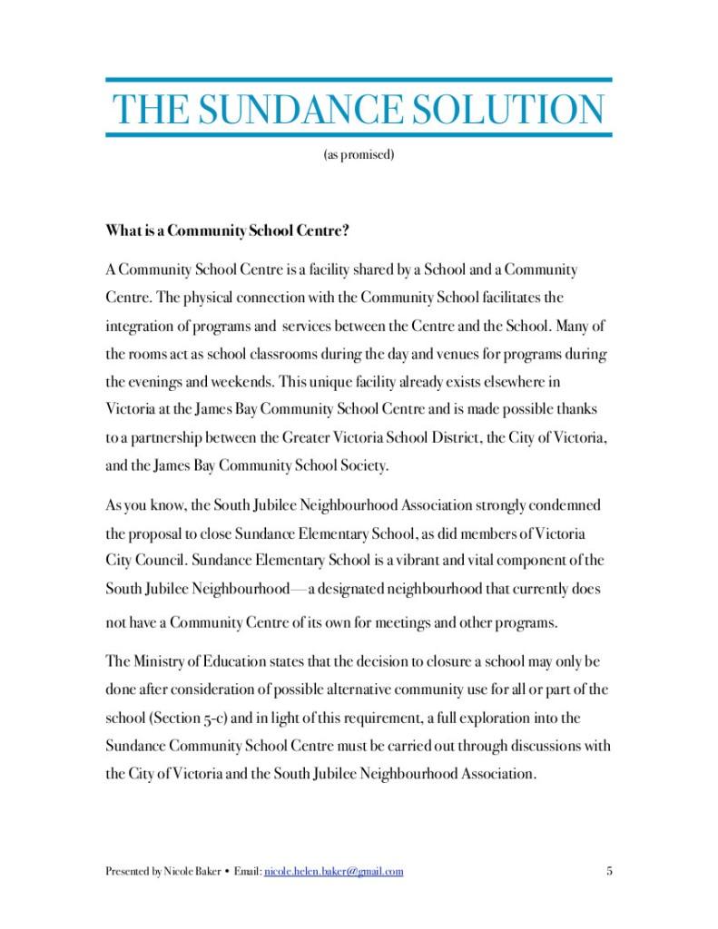 Sundance Report 5