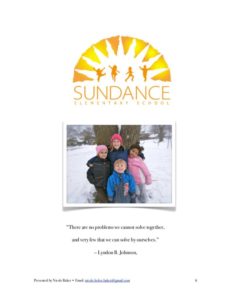 Sundance Report 6