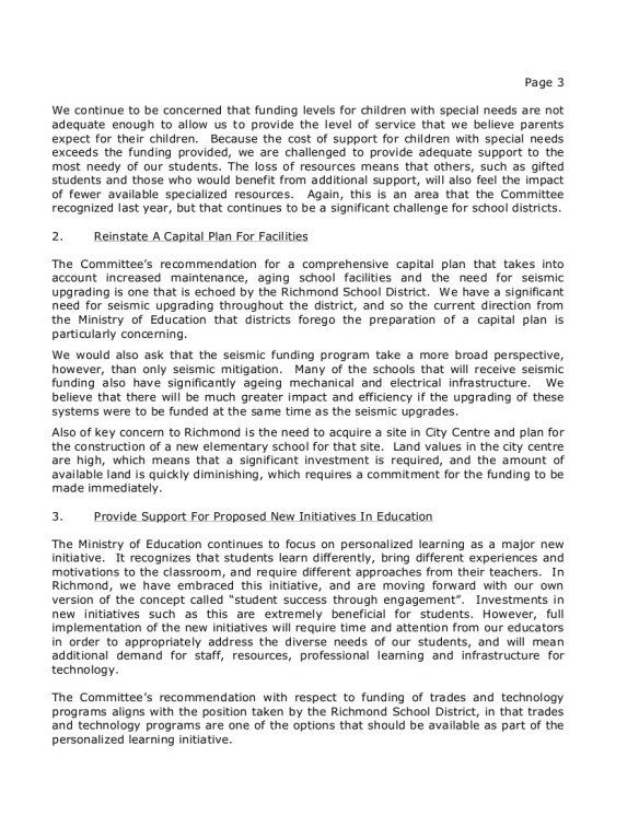 7 2014-10-16 SD38 Richmond to Select Standing Committee on Finance and Government Services-- SSCFGS submission 3