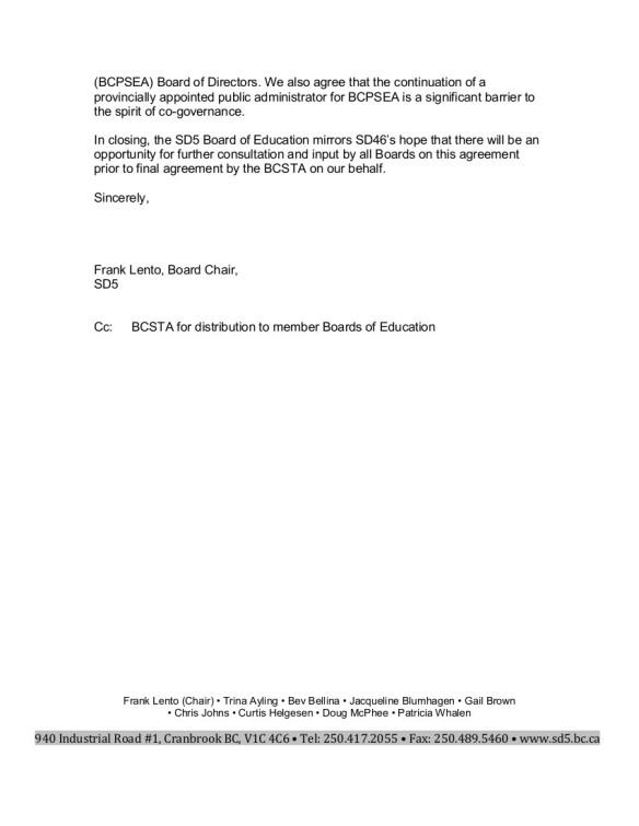 6 2015-02-12 SD5 Co-governance Memorandum of Understanding 2.