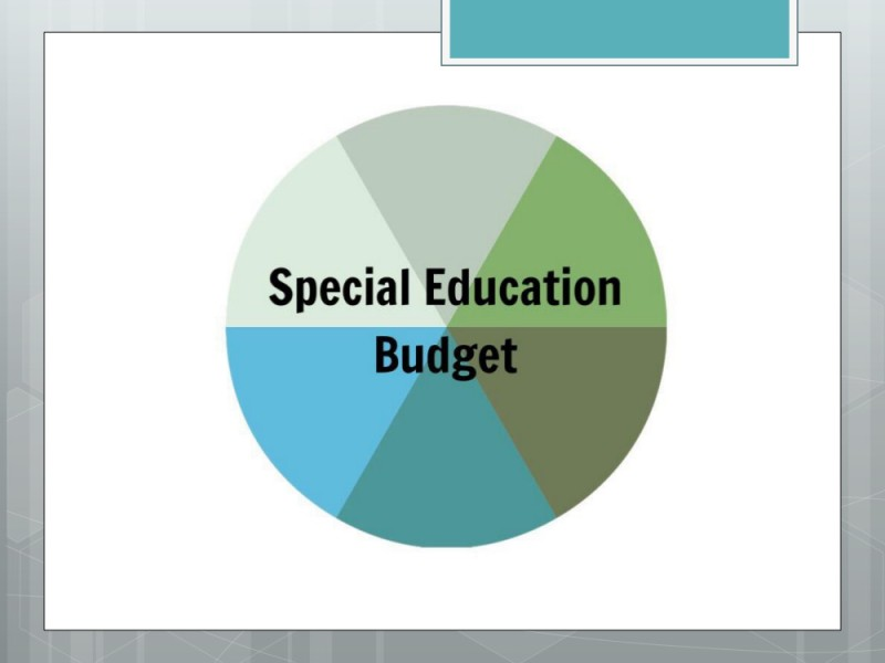 Special Education Budget Presentation 1
