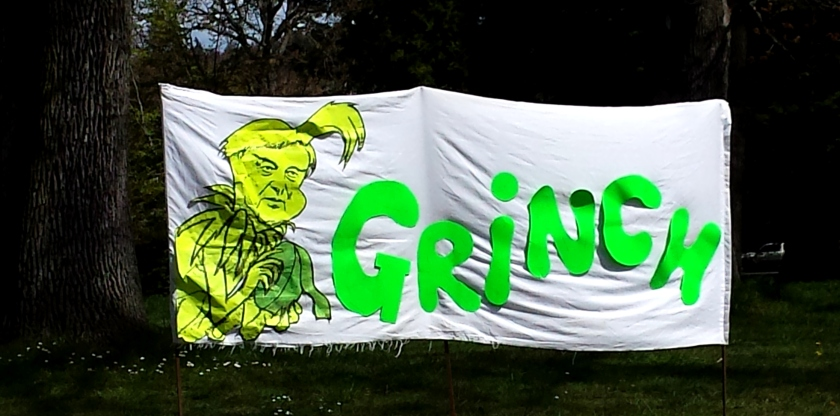 2015 April picnic rally Grinch 2