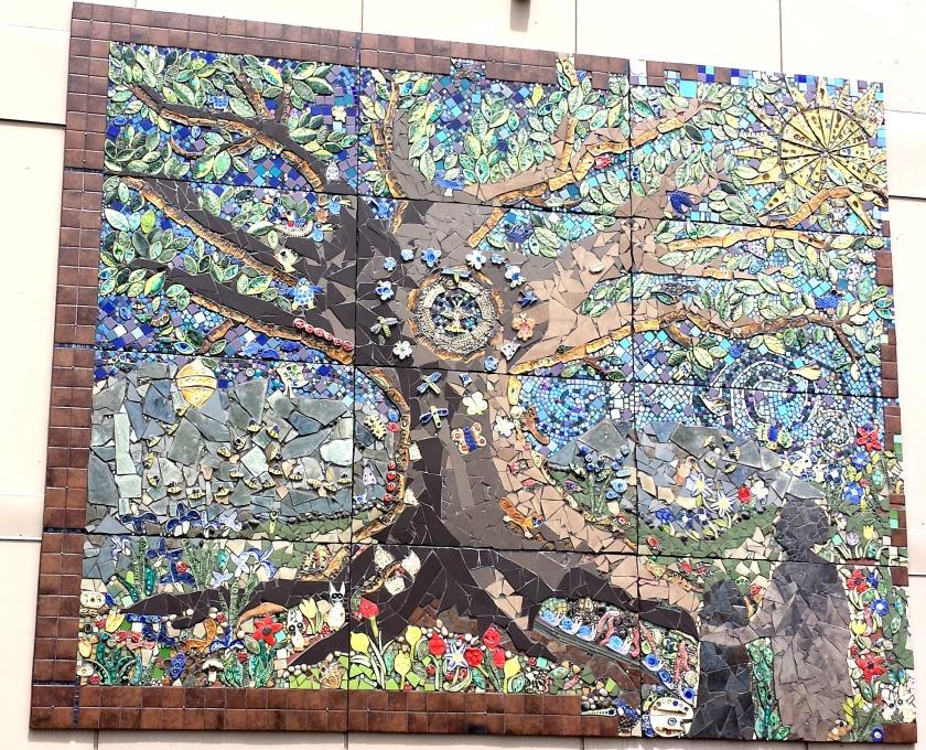 Ecole Quadra School mural
