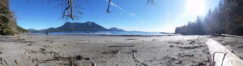 Marcie Callewaert First Beach Ahousaht Feb 15 2015