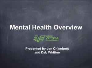 Town Hall Mental Health 1