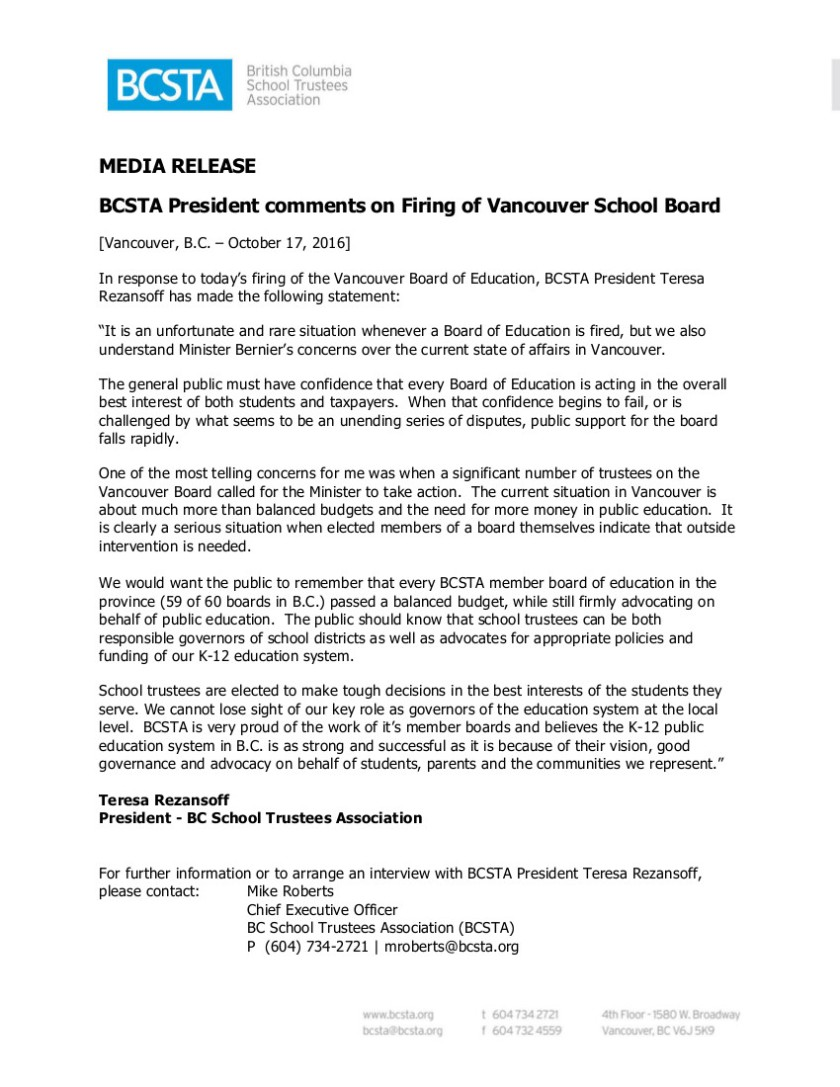 media-statement-bcsta-oct-17-2016-re-firing-of-vancouver-board-of-education