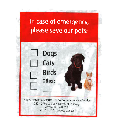 Pet Notice