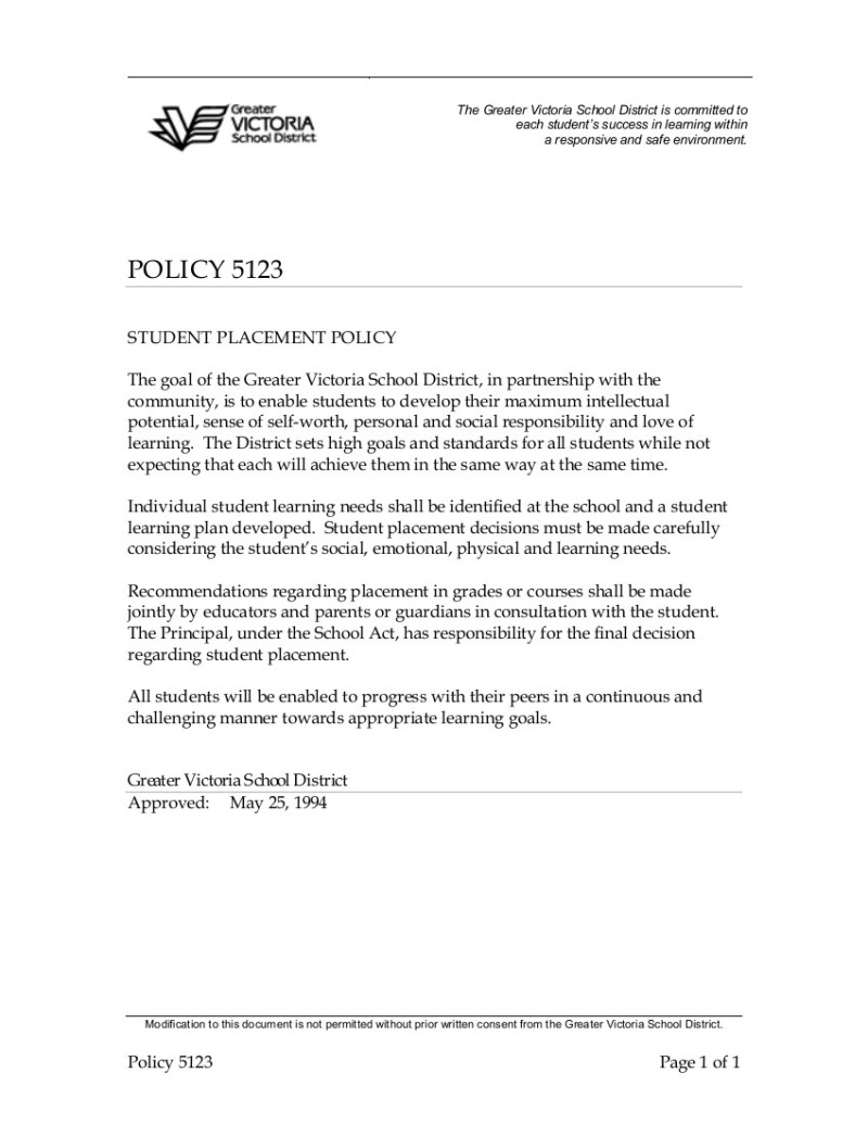 Policy-5123-Student-Placement-Policy