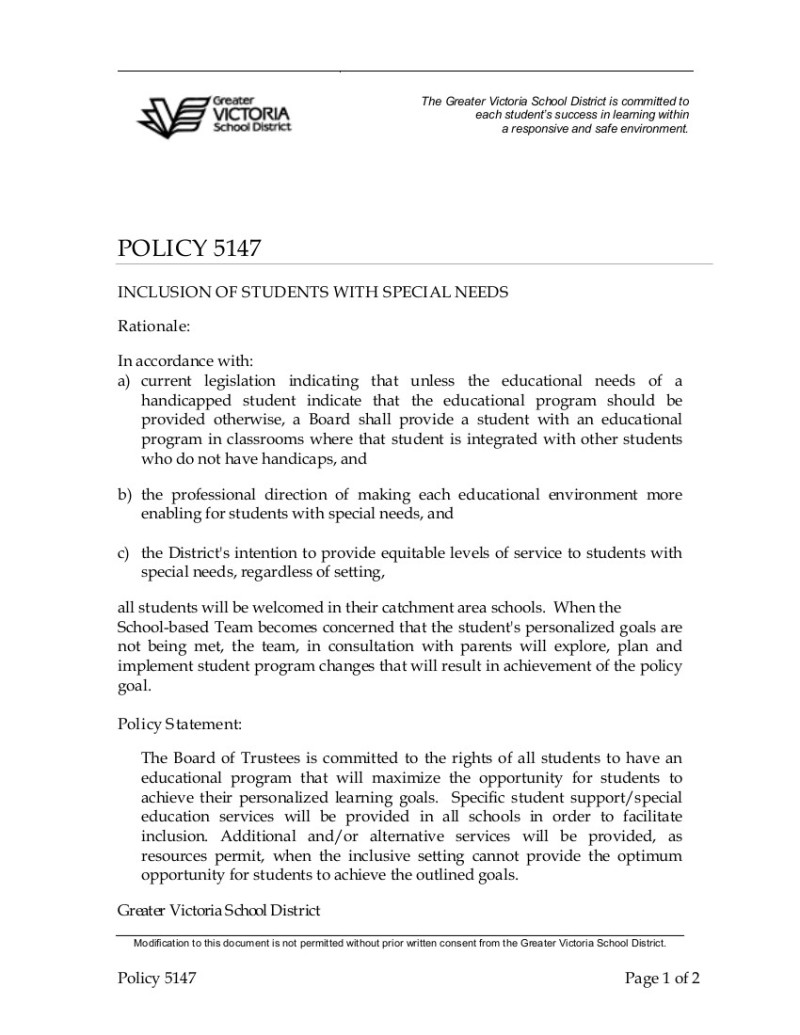 Policy-5147-Inclusion-of-Students-with-Special-Needs 1