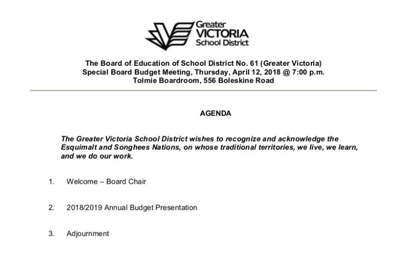 2018-04-12-Special-Budget-Meeting-Agenda