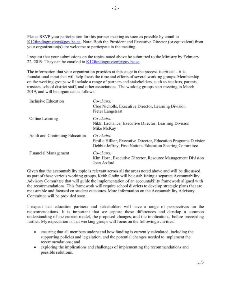 2 2019-01-22 RFleming to Ed Partners funding formula